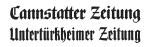 Cannstatter Zeitung Logo